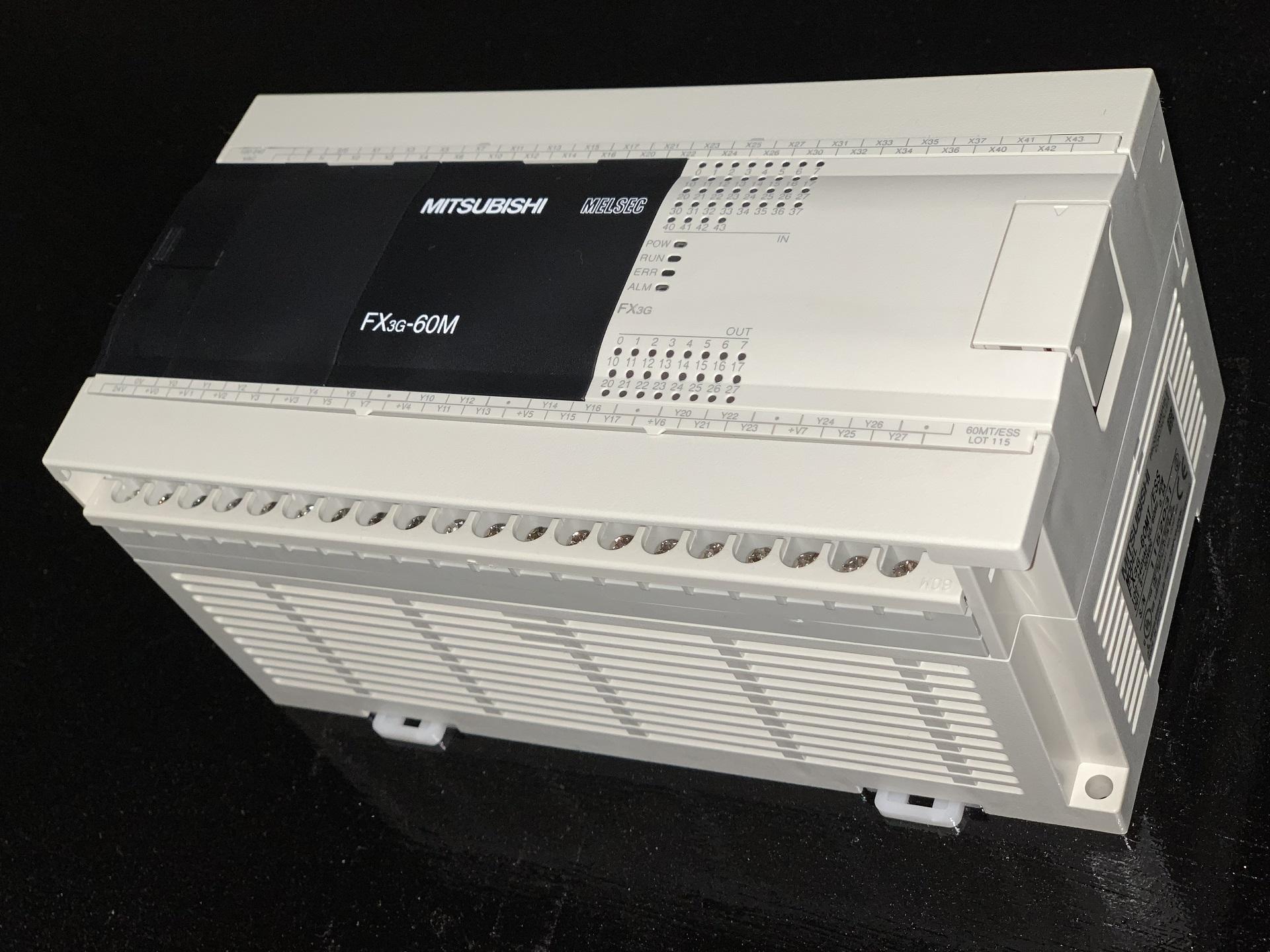 23_三菱電機製のPLC:FX3G-60M