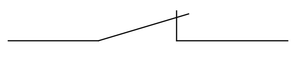 b接点の記号
