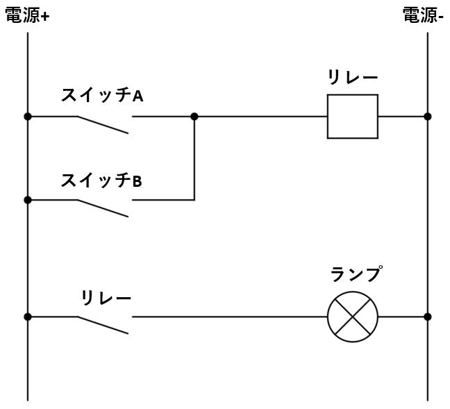リレー回路図_動作解説