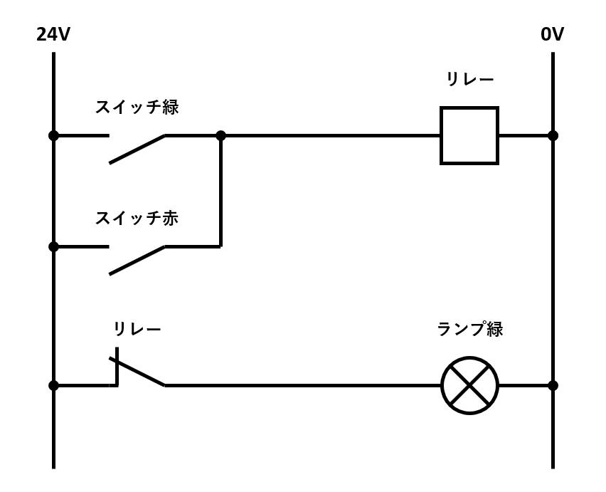 NOR回路の回路図