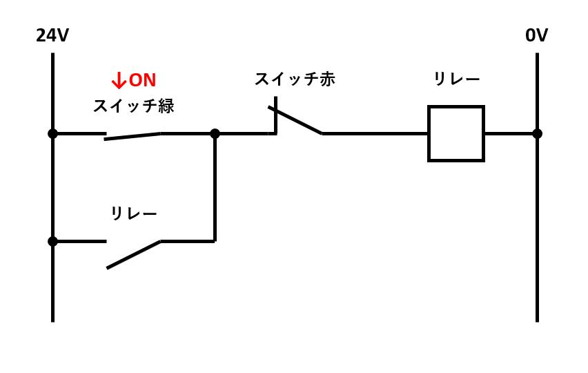 自己保持回路の解説1