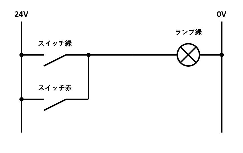 OR回路の回路図