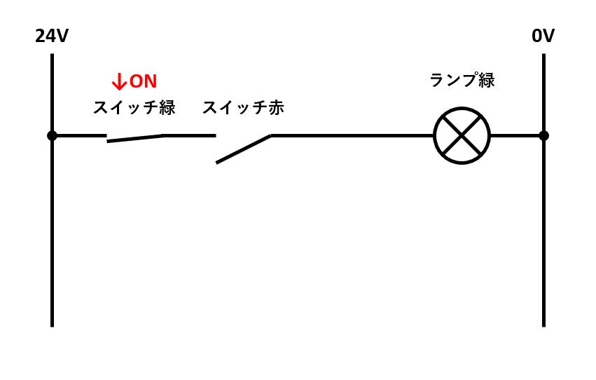 AND回路の解説1