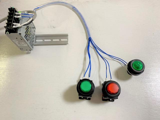 OR回路の配線の様子