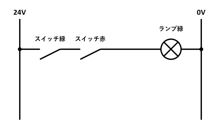 AND回路の回路図