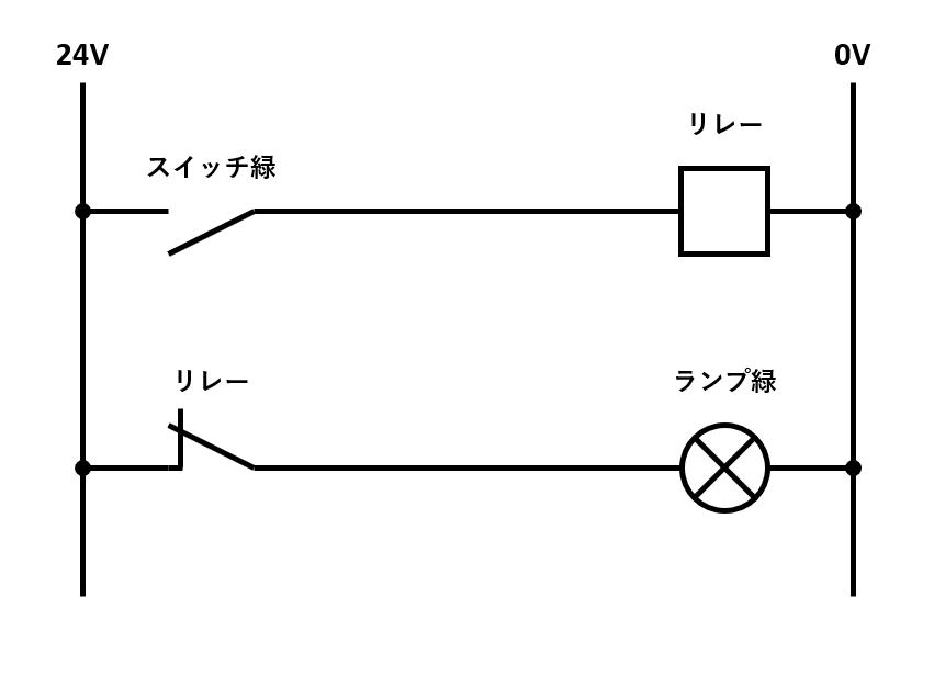 NOT回路の回路図