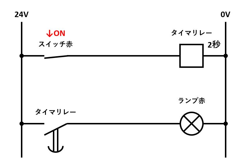 オンディレイタイマ回路の解説1