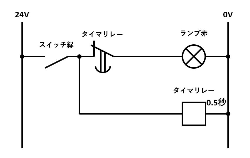 ワンショット回路の回路図