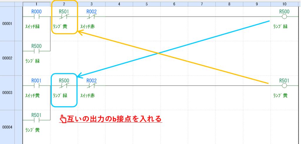 例題①_ラダープログラム解説1
